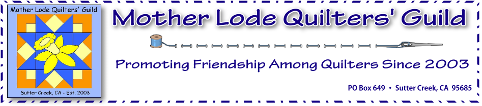 Mother Lode Quilters Guild